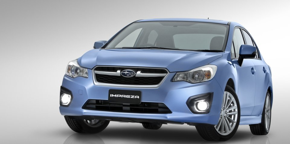 2012 Subaru Impreza and XV Preview