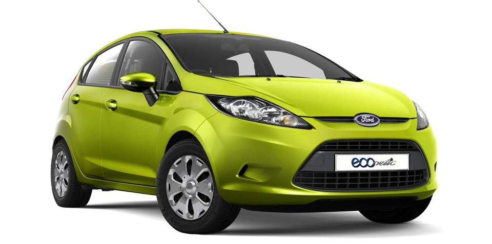 Ford Fiesta ECOnetic now rated at just 3.6L/100km