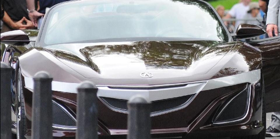 Next-Gen Honda NSX concept appears in The Avengers