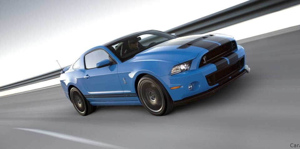 "2013 Ford Shelby GT500 debuts with ""world's most powerful production V8"""