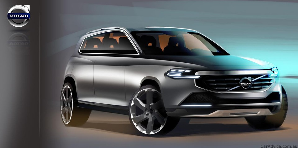 2014 Volvo XC90 sketches leaked