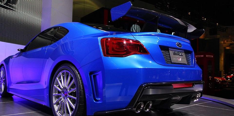 Subaru BRZ will race - It's official