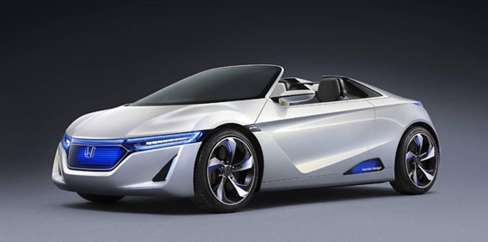 Honda EV-STER hints at electric S2000 successor