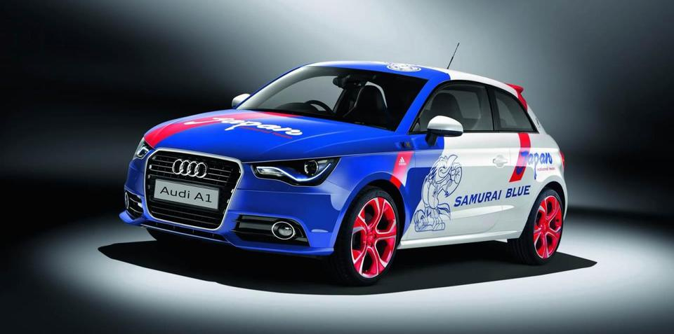 Audi A1 Samurai Blue to be auctioned off for charity