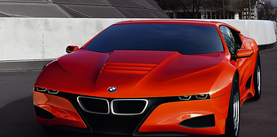 BMW supercar stopped in its tracks