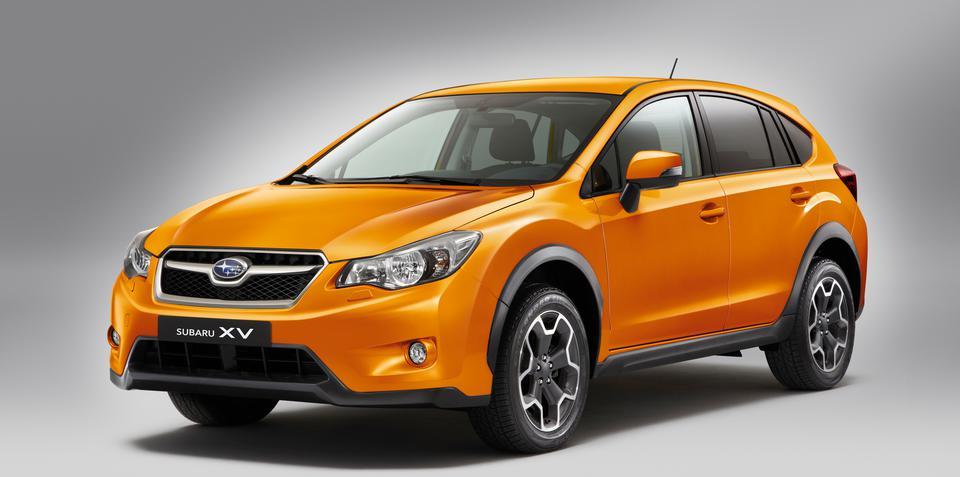2012 Subaru XV pricing revealed