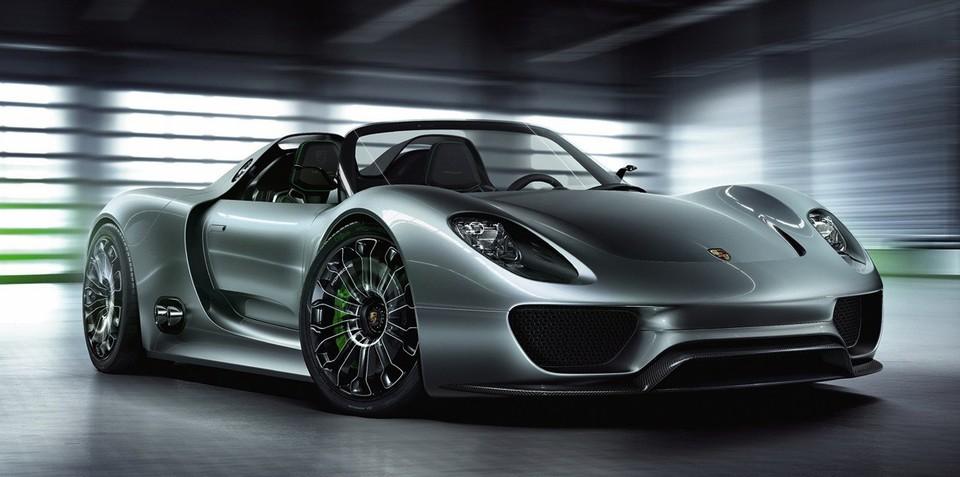 Porsche 918 Spyder to get 4.6-litre V8 at 2013 Frankfurt debut