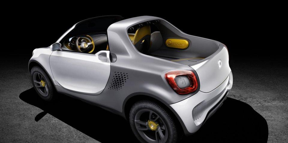 Smart For-us: Daimler's baby ute concept revealed