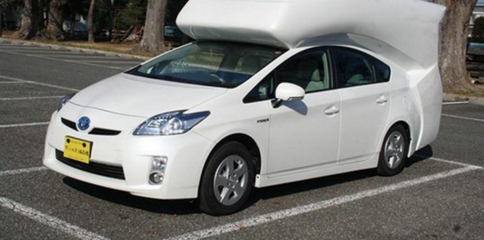 Toyota Prius camper conversion unveiled at Tokyo Auto Salon