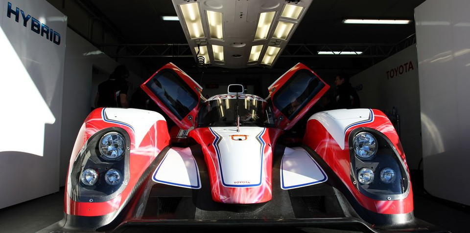 Toyota unveils Hybrid racer for Le Mans