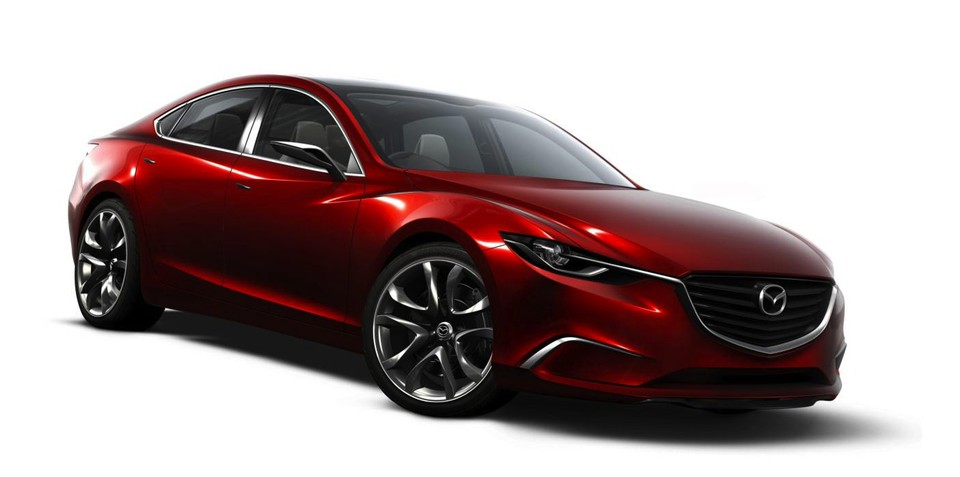 Mazda6 four-door 'coupe' to rival Passat CC