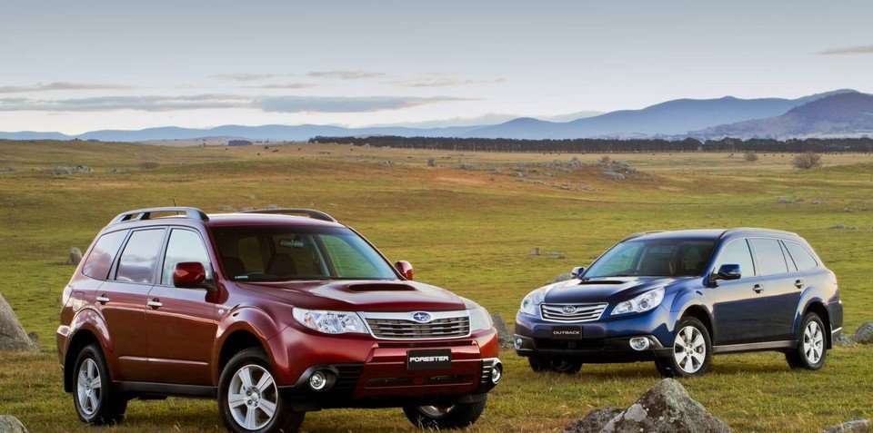 2012 Subaru Forester 2.0D, Outback 2.0D more fuel efficient