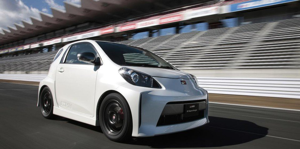 Toyota iQ Supercharger confirmed for limited production