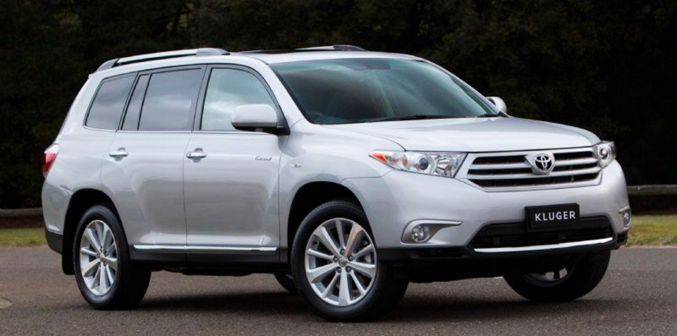 Toyota Kluger Production To Shift To Us From 2013