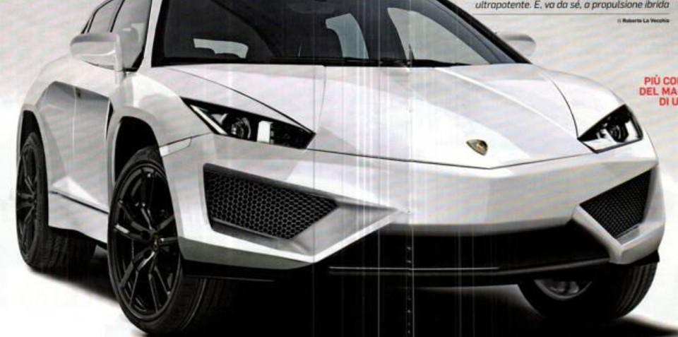 Lamborghini's 522kW SUV