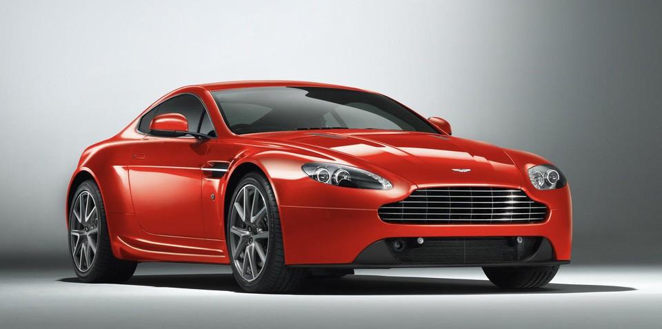 2012 Aston Martin V8 Vantage facelift revealed