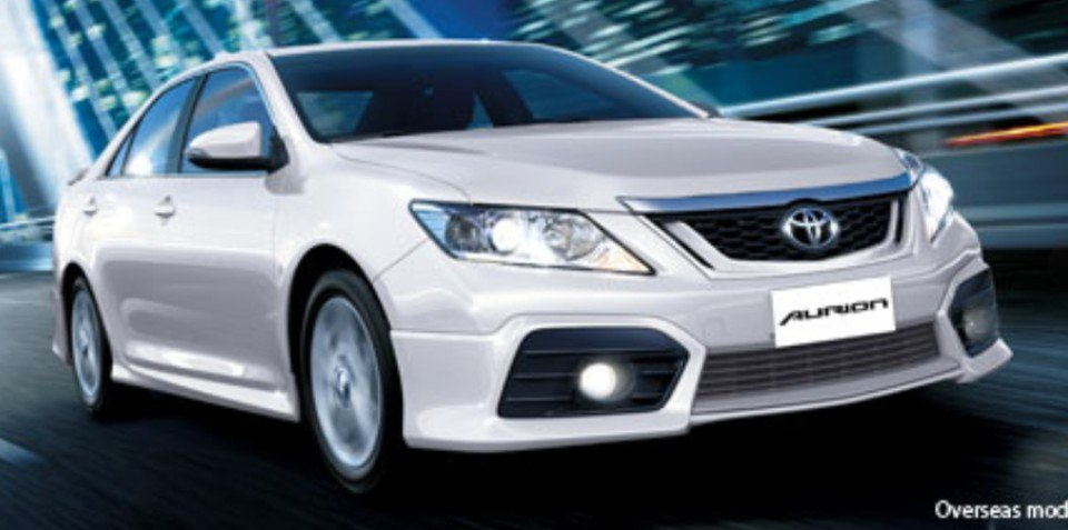 2012 Toyota Aurion: first look from New Zealand
