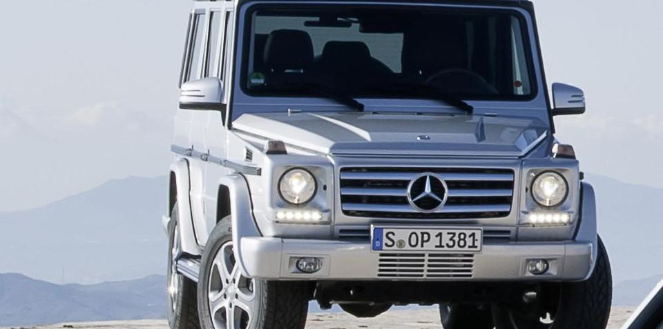 2013 Mercedes-Benz G-Class sneak peek