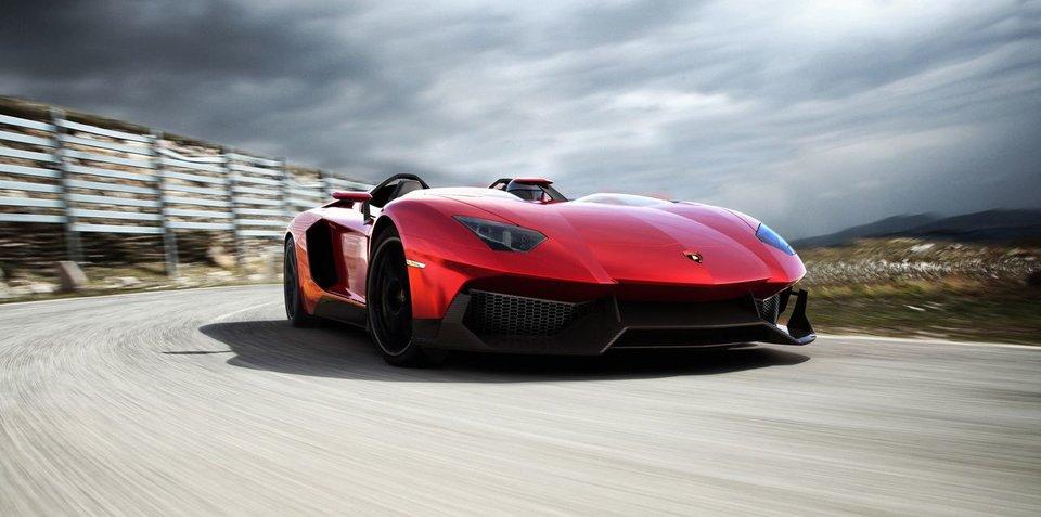 Lamborghini Aventador J unveiled