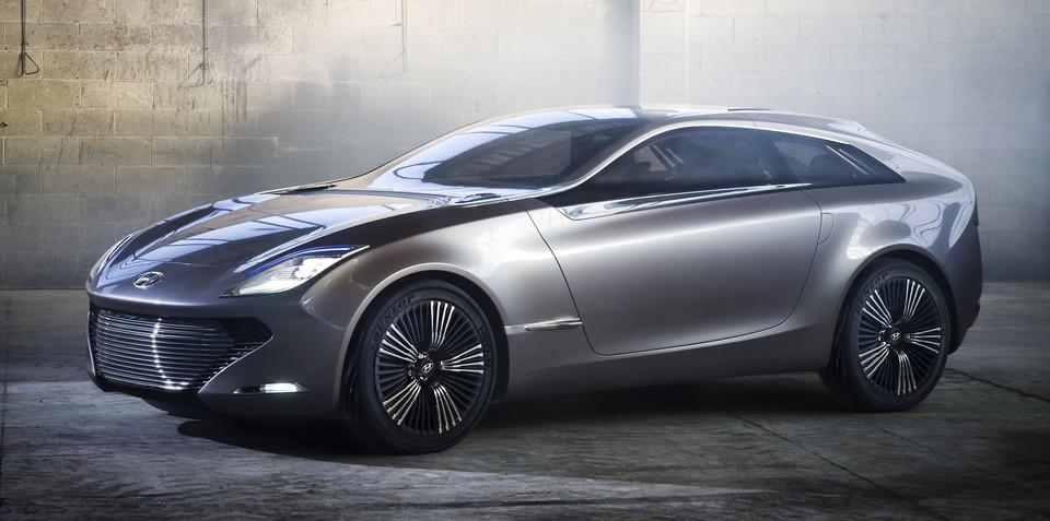 Hyundai i-oniq concept spreads its wings