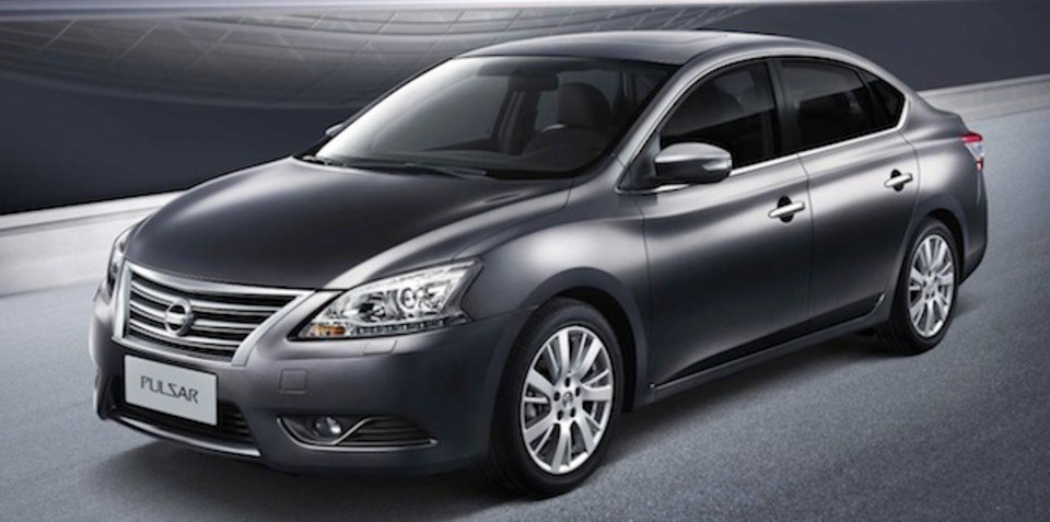 2012 Nissan Pulsar: small sedan unveiled