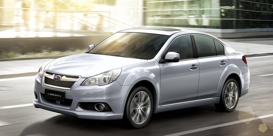 2013 Subaru Liberty: higher-riding sedan confirmed for Australia