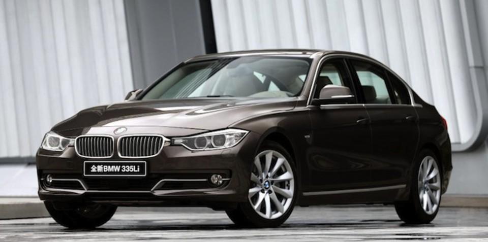 BMW 3-Series Li stretches into China