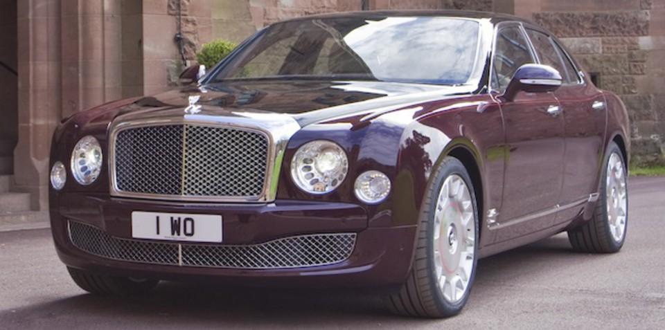 Bentley Mulsanne Diamond Jubilee Edition: a royal effort for The Queen