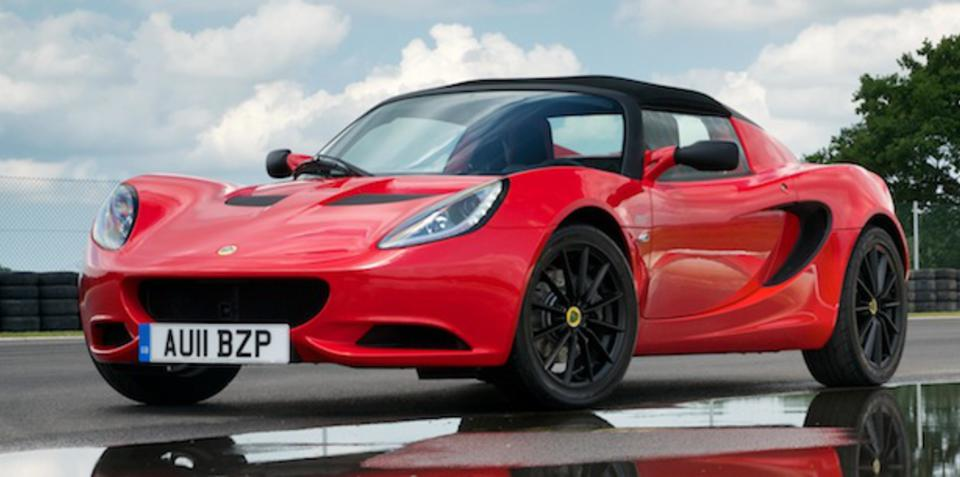 2012 Lotus Elise Club Racer launched