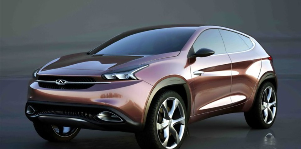 Chery TX concept: China's sleek SUV previewed