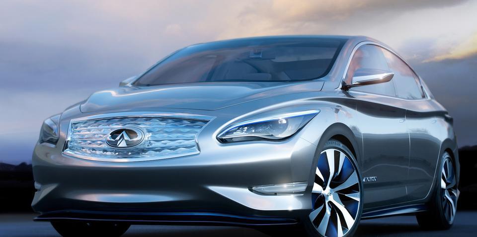 Infiniti LE concept previews production EV