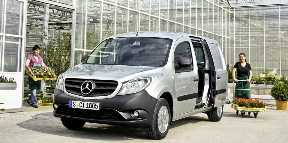 Mercedes-Benz Citan: city delivery van revealed