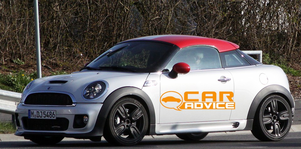 Mini Coupe JCW GP spy shots