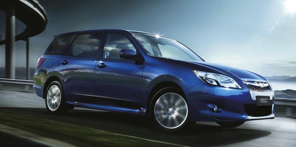 Subaru Liberty Exiga to gain missing seventh seat