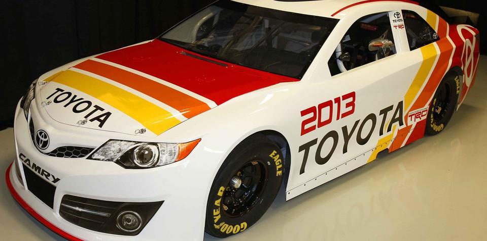 2013 Toyota Camry NASCAR racer revealed