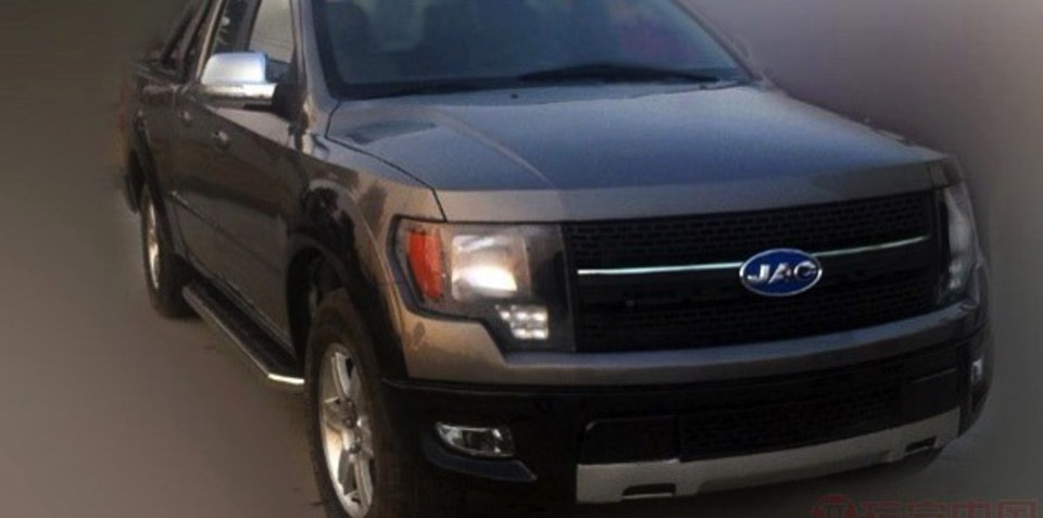 Ford's lawyers block Chinese F-150 copy cat