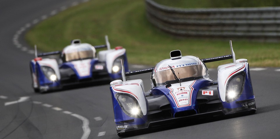 Toyota returns to Le Mans