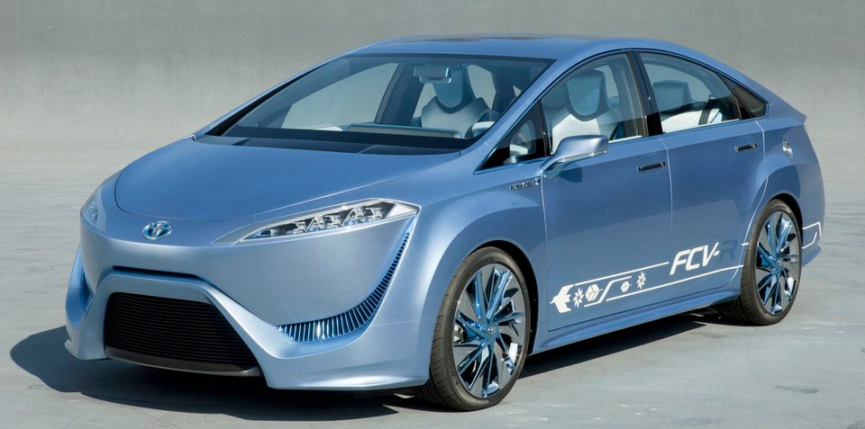 Toyota hydrogen fuel cell car coming in 2015