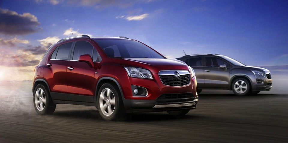 Holden Trax confirmed for 2013