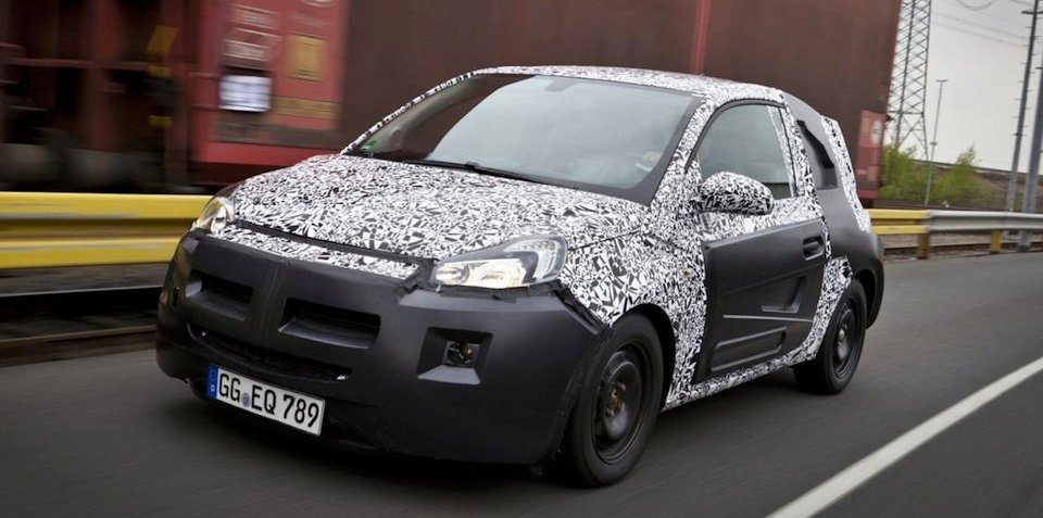 Opel Adam 'moods' to be called Jam, Glam and Slam