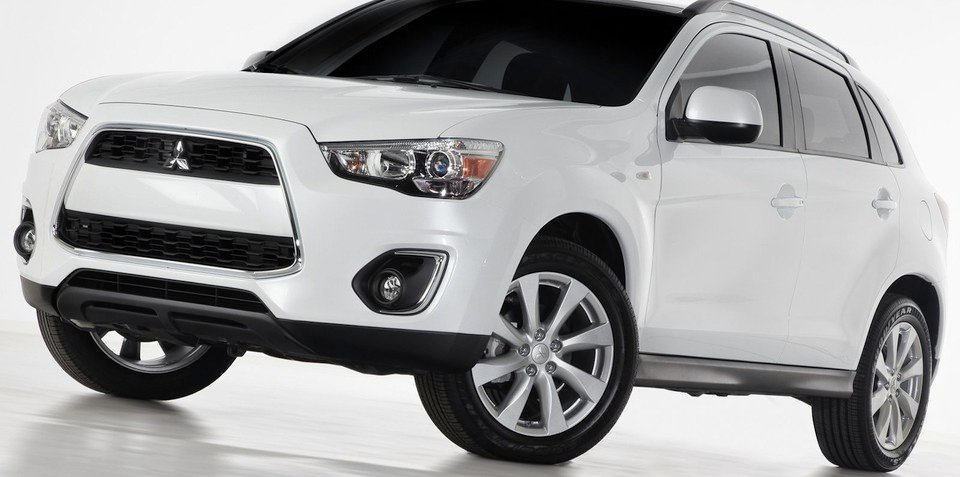 Mitsubishi ASX: updated 2013 SUV starts US production