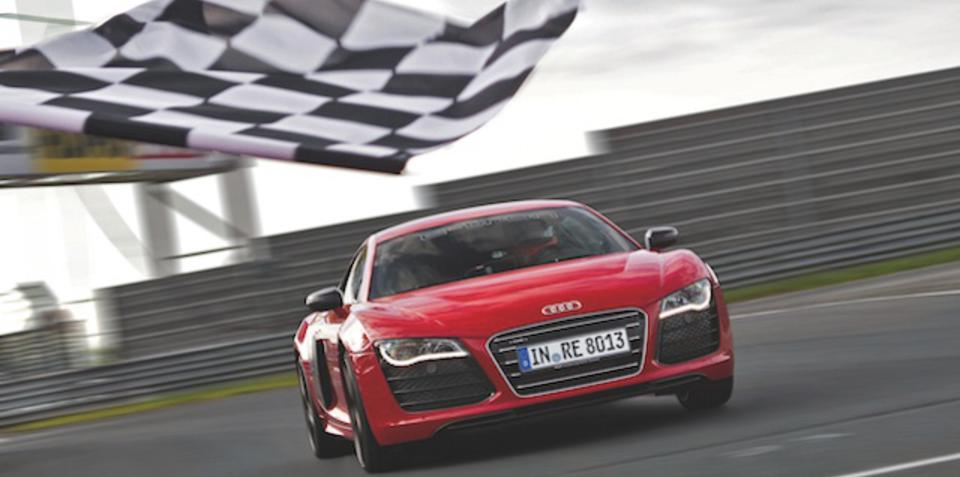 Audi R8 e-tron sets world record at Nurburgring
