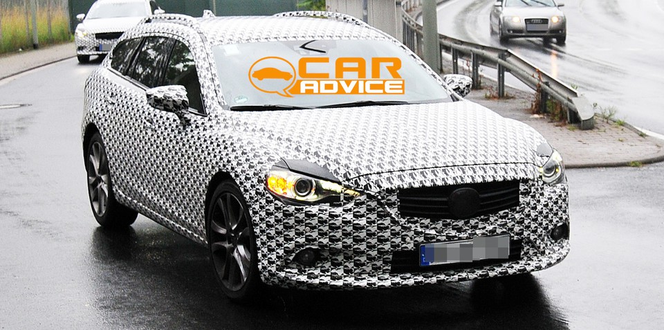 Mazda6: first look at mid-size wagon