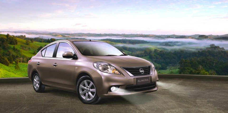 Nissan Almera: city-sized sedan priced from $16,990