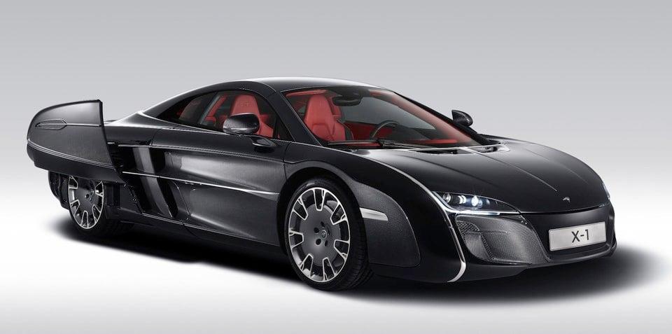 McLaren X-1 concept: bespoke Brit gets Batmobile treatment