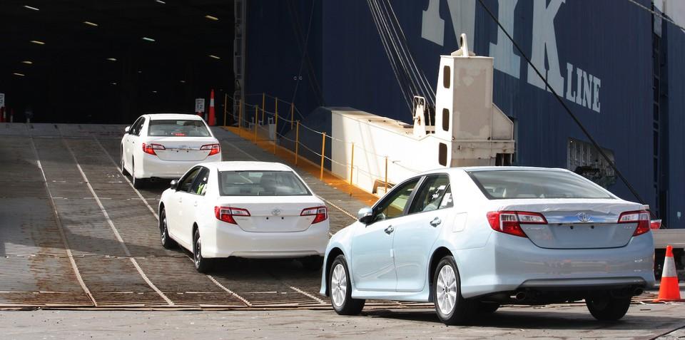 Toyota Australia reaches one million vehicle exports milestone