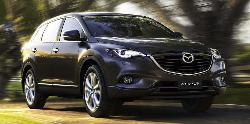 2013 Mazda CX-9 unveiled: global debut in Australia