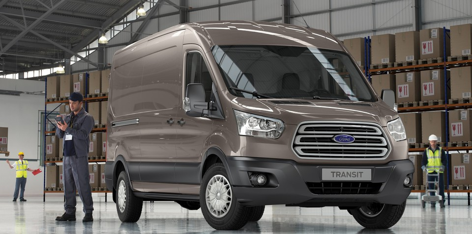 2013 Ford Transit: next-generation vans revealed