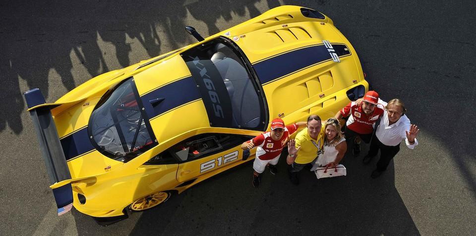 Ferrari 599 FXX delivered to Google executive in Monza