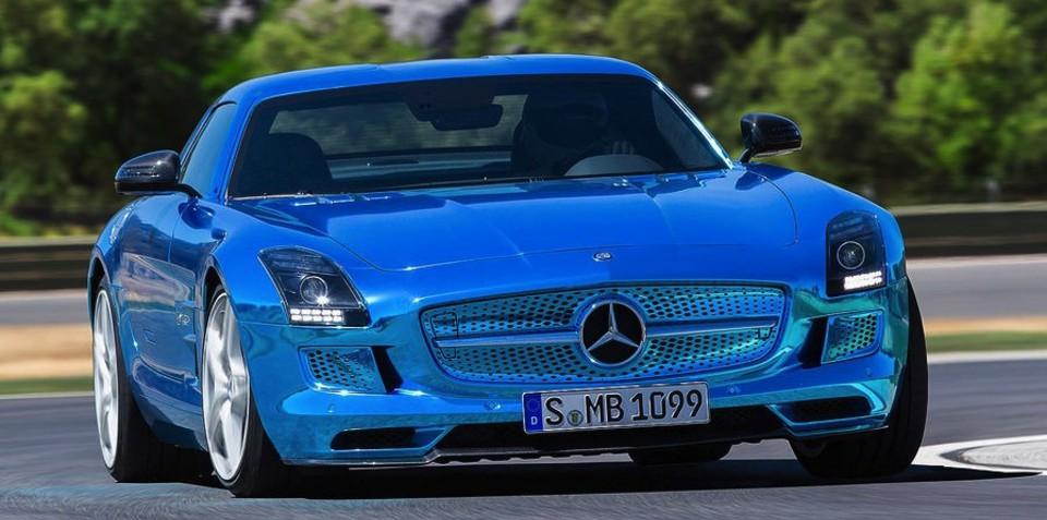 Mercedes-Benz SLS AMG Electric Drive: world's most powerful EV